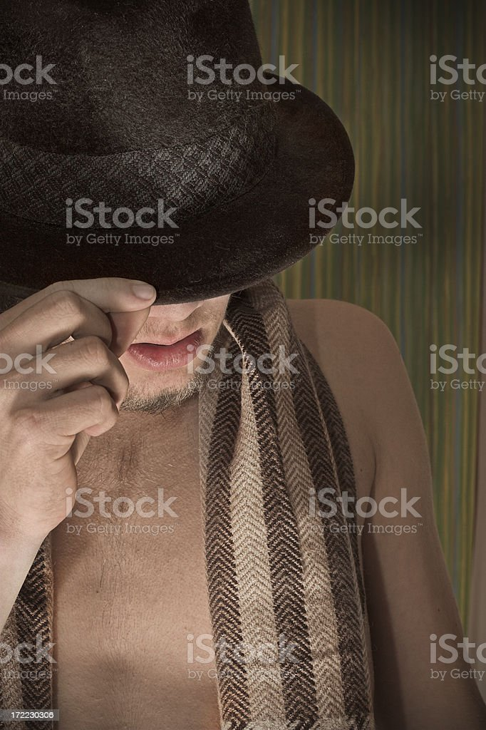 'just one more thing until I leave...' stock photo