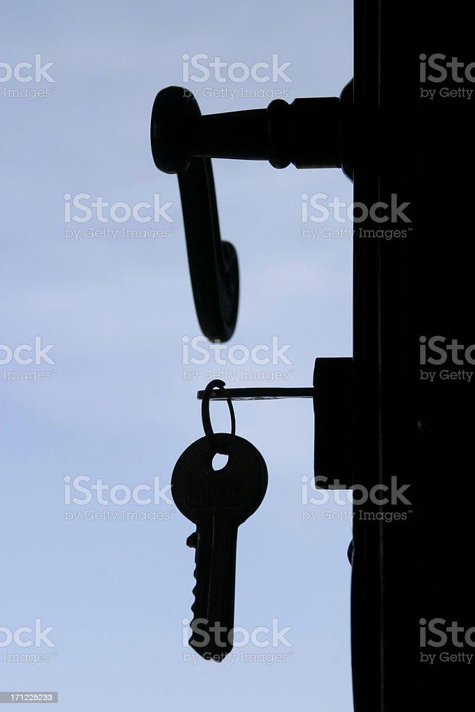 Just open the door royalty-free stock photo