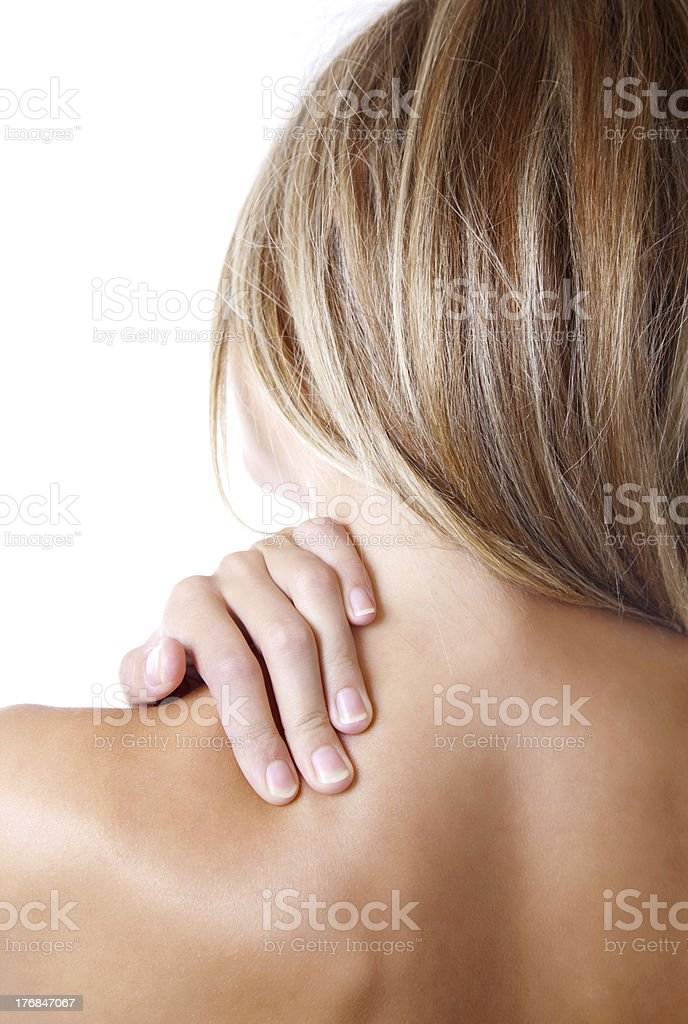 Just pain stock photo