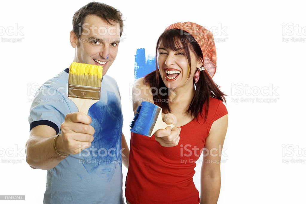 Just playing royalty-free stock photo