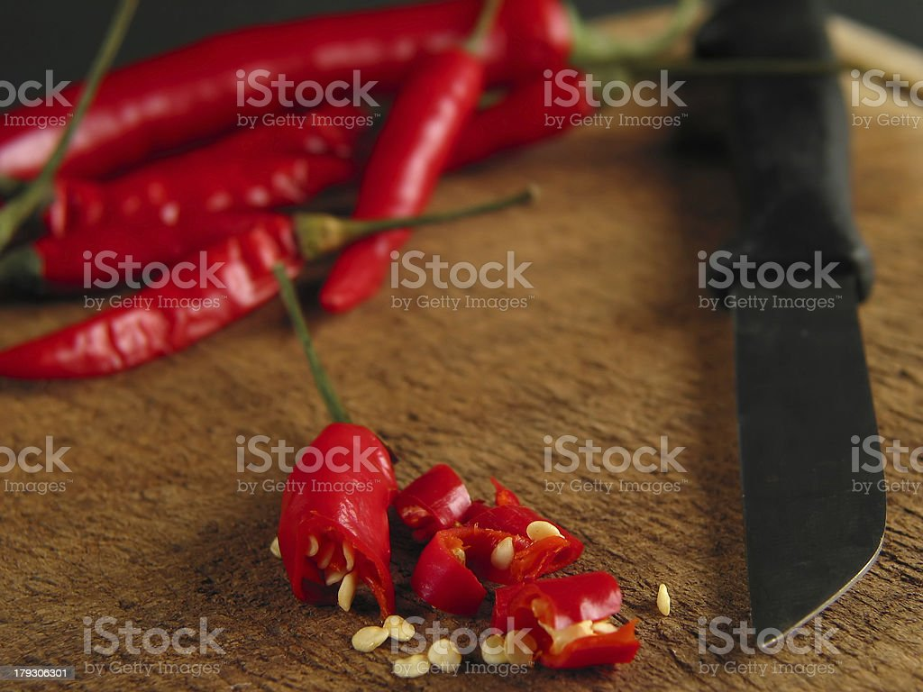 Just put them into your food :-) royalty-free stock photo