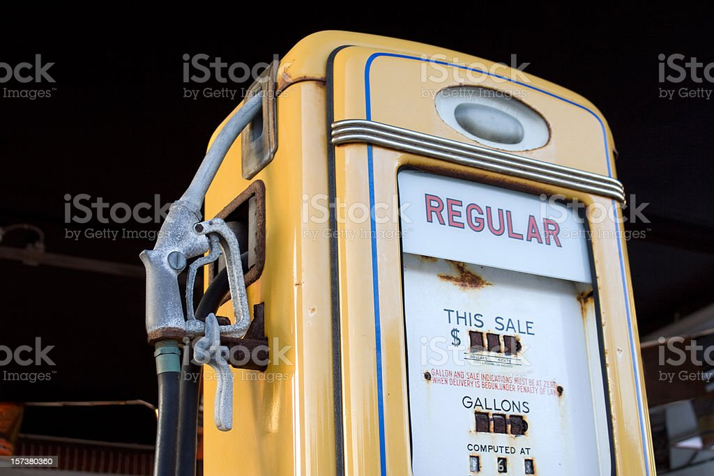 Just Regular Old Gas royalty-free stock photo