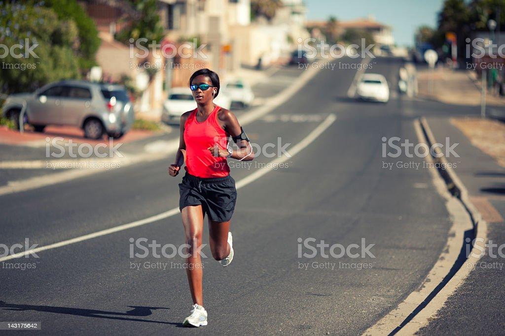 Just Run stock photo