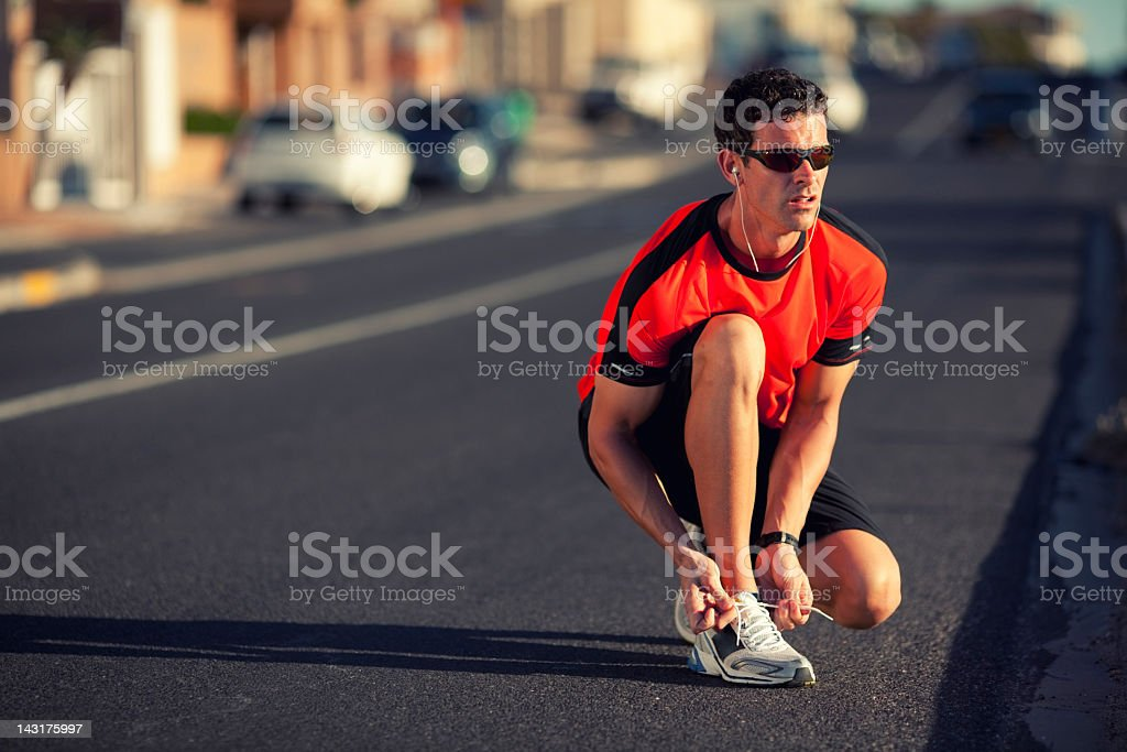 Just Run stock photo