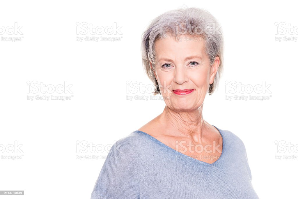 Just smiling stock photo