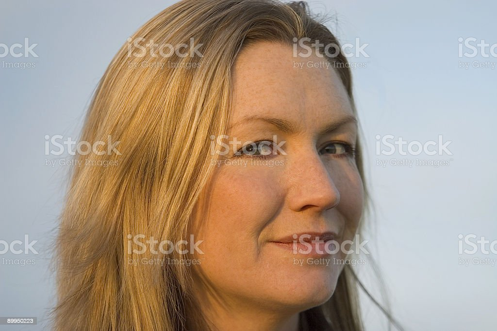 Just Smiling royalty-free stock photo