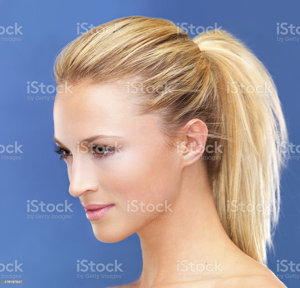 Just so gorgeously fresh and clear royalty-free stock photo