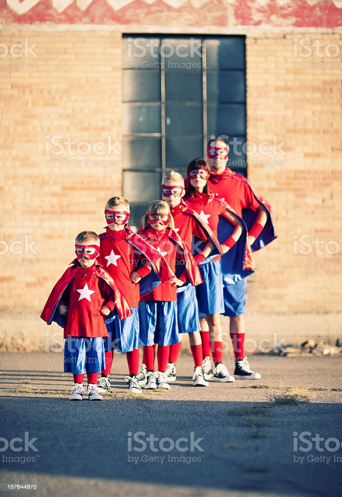 Watch out. This family of superheroes is going places. Plenty of...