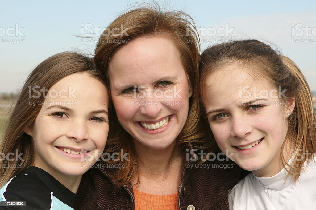 Just the Girls stock photo