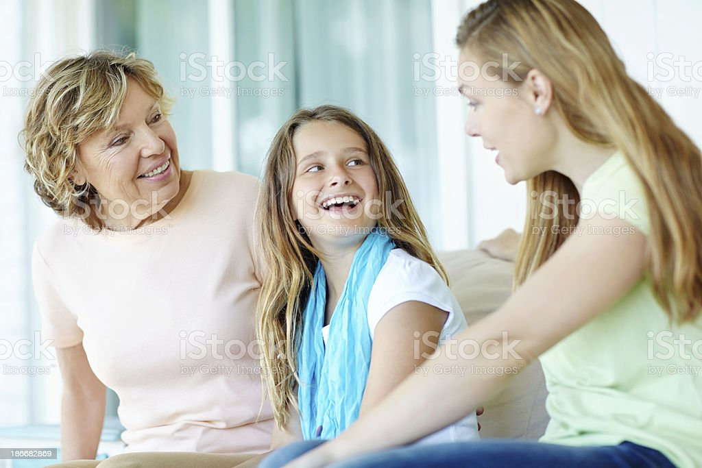 Just the girls! royalty-free stock photo