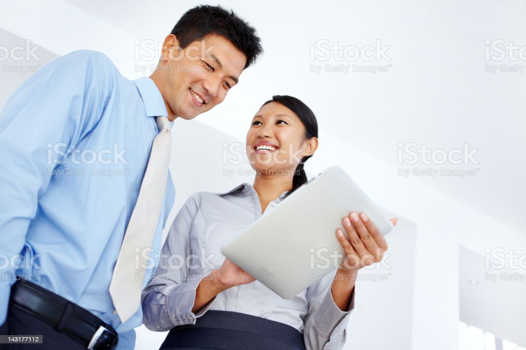 Just the results they were hoping for! royalty-free stock photo