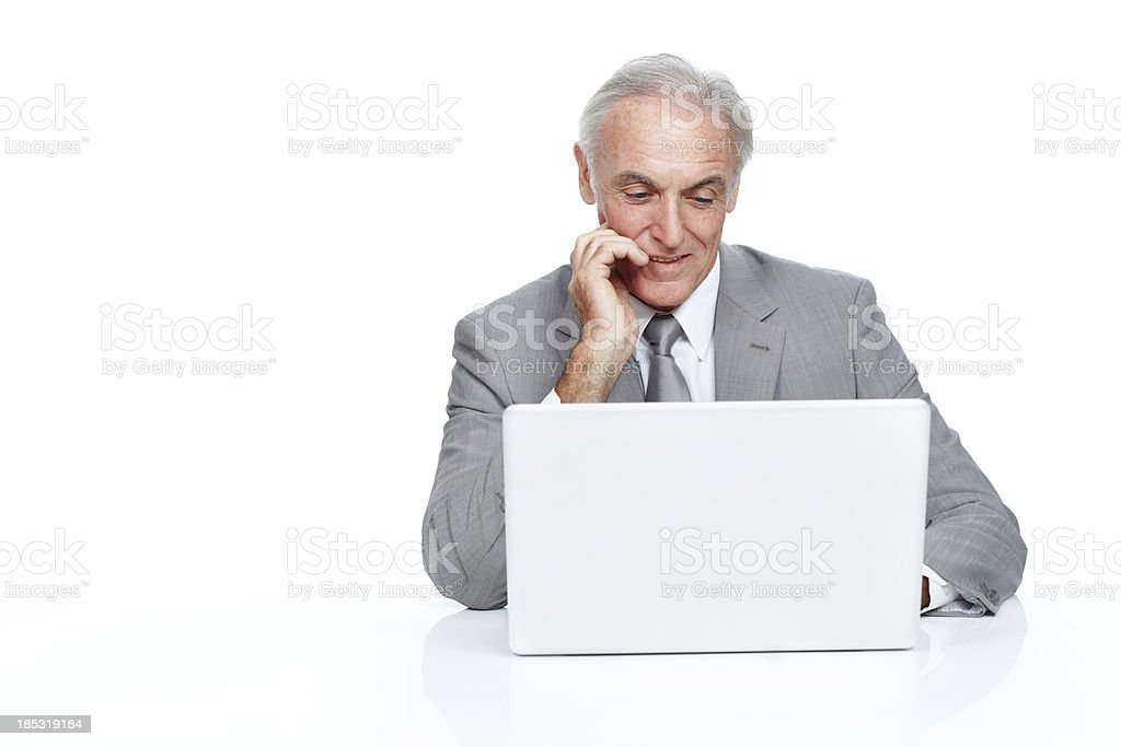Just think how great your advert would look here royalty-free stock photo