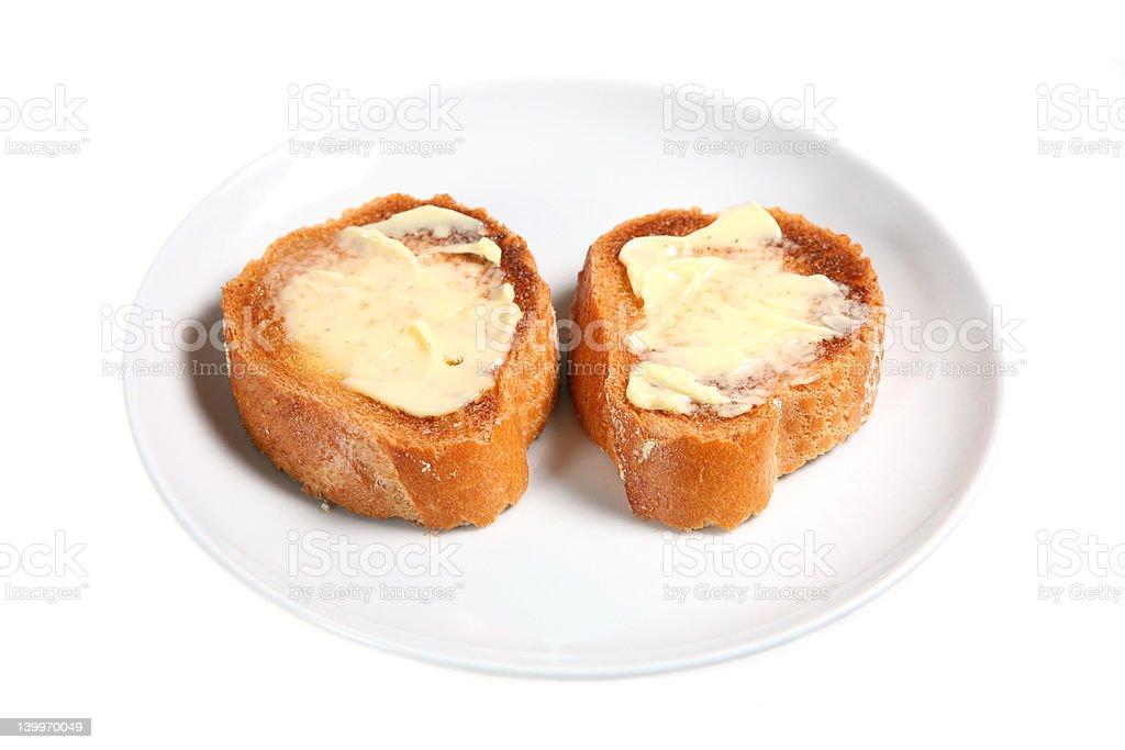 Just Toast royalty-free stock photo