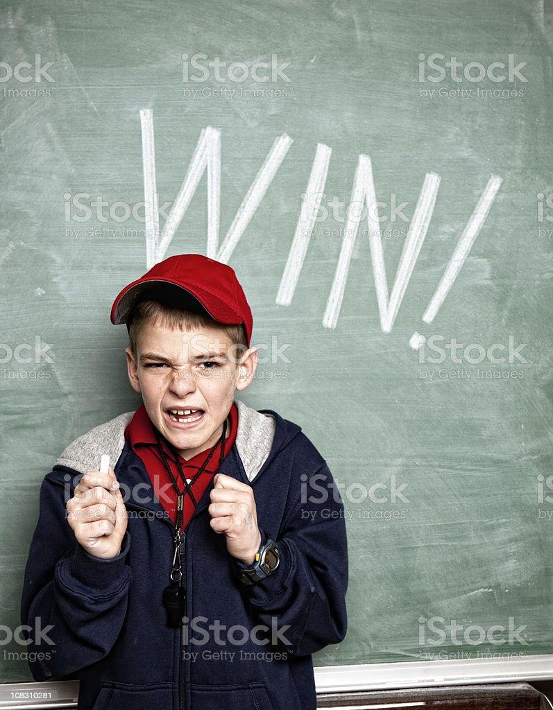 Just Win Baby stock photo