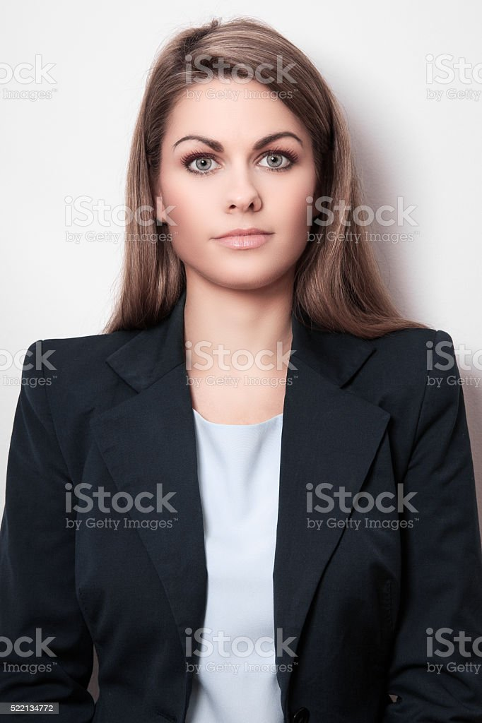Just woman stock photo