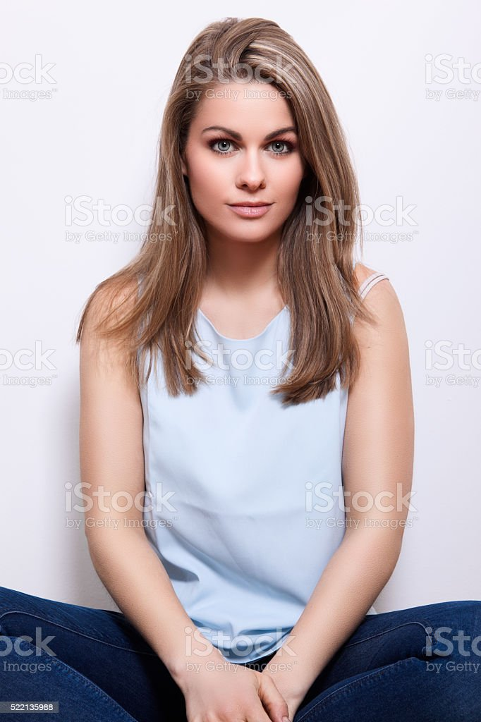Just Woman stock photo