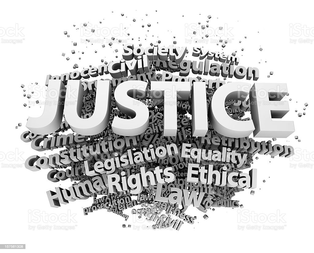 Justice concepts stock photo