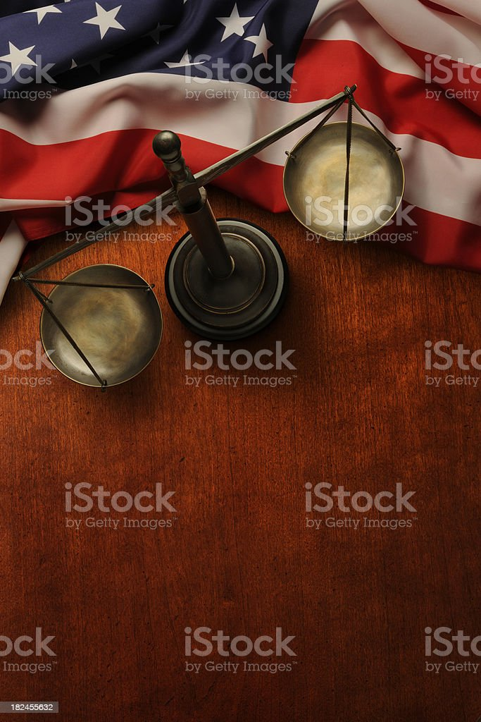 Justice For All royalty-free stock photo