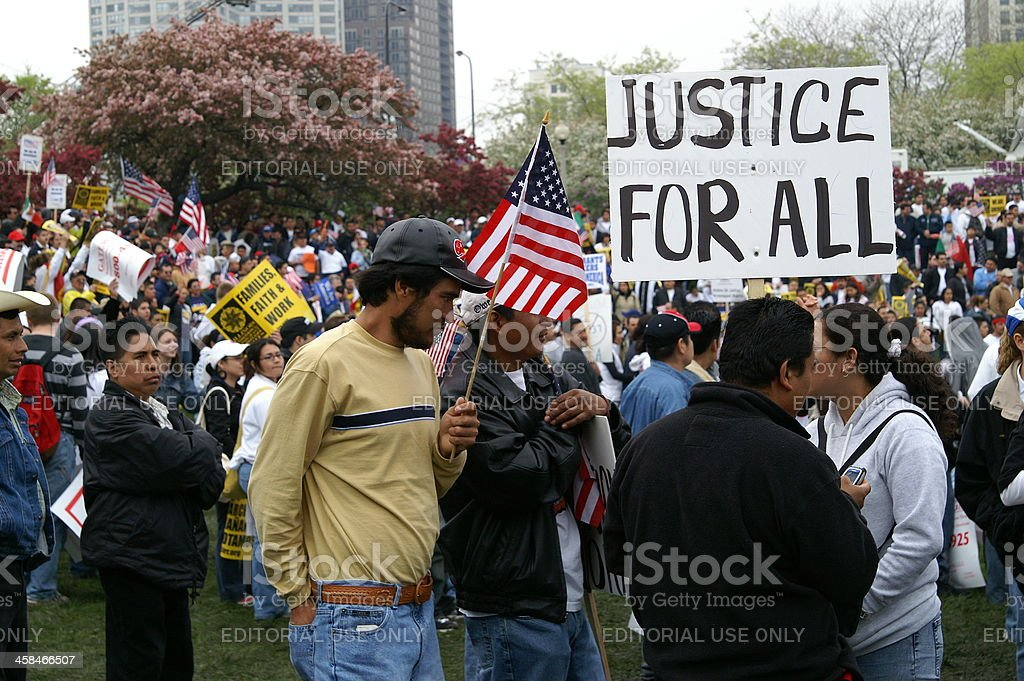 Justice for all stock photo