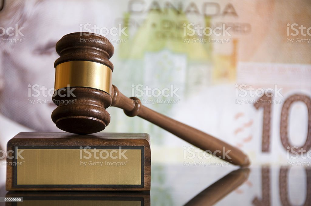 Justice Gavel royalty-free stock photo