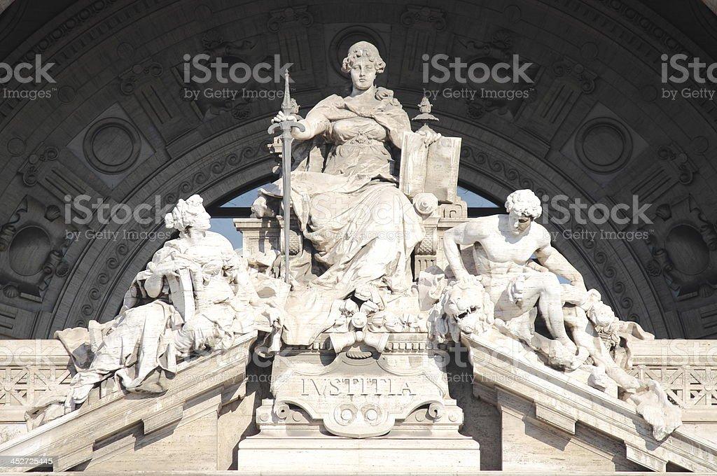 Justice Goddess stock photo