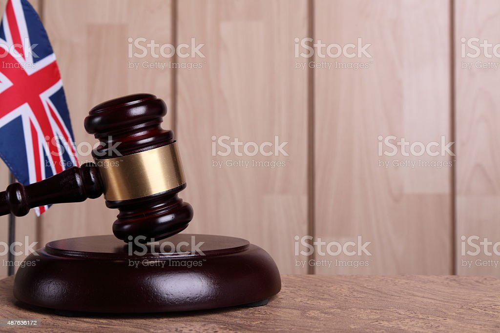 Justice in United Kingdom stock photo