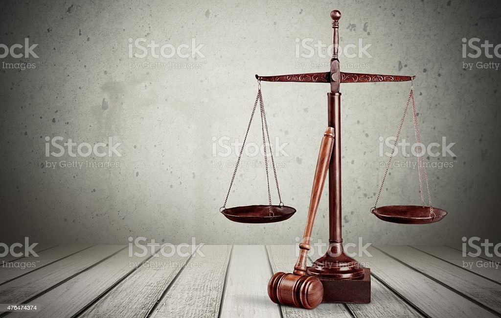 Justice, Legal System, Weight Scale stock photo