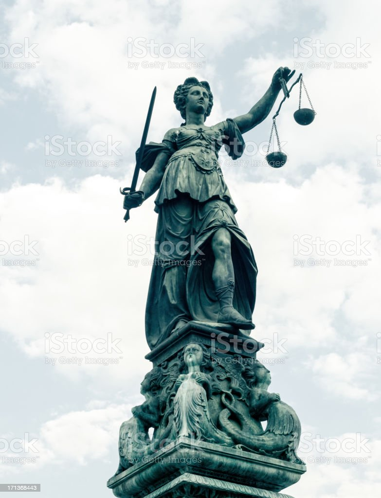 Justice (Justitia) stock photo