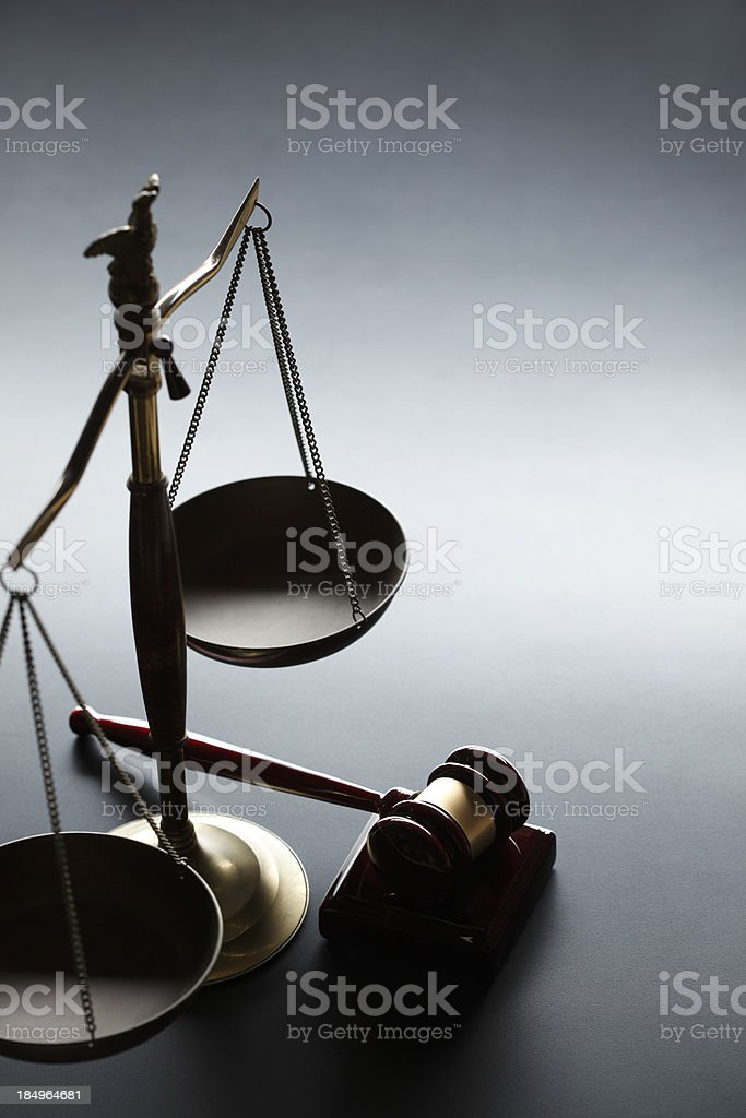 Justice royalty-free stock photo