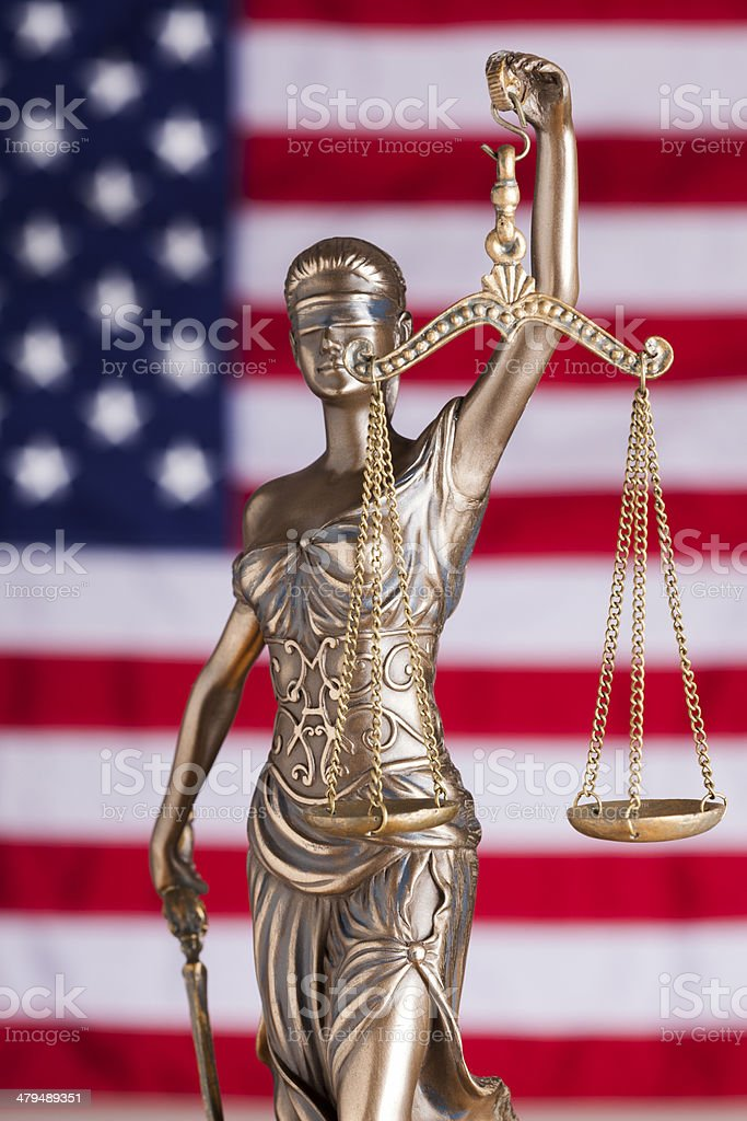 USA Justice stock photo