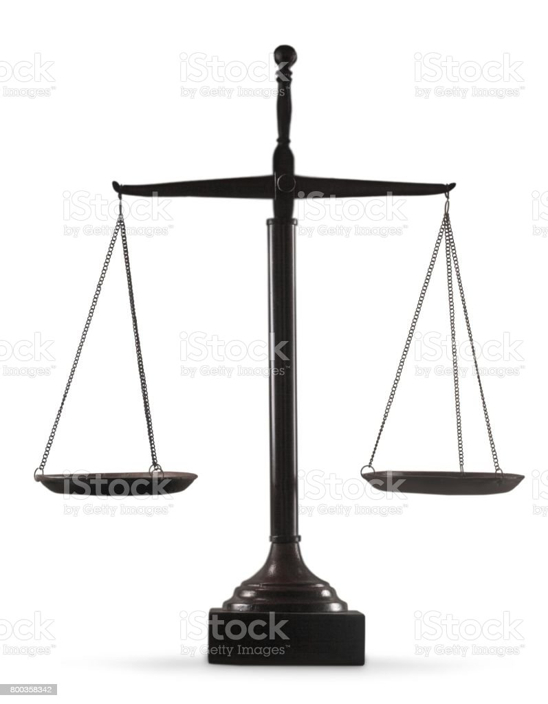 Justice. stock photo