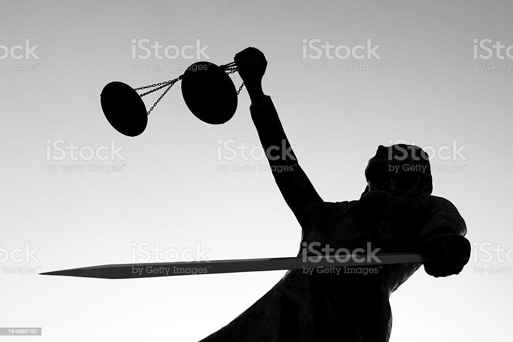 justice Scales royalty-free stock photo