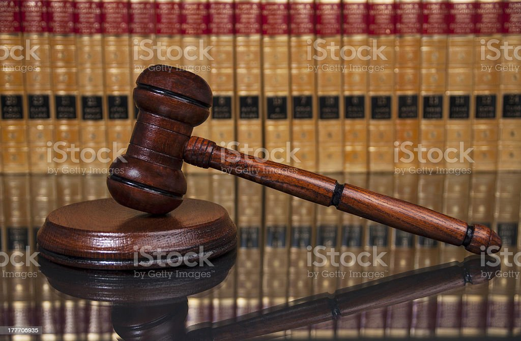 Justice system royalty-free stock photo