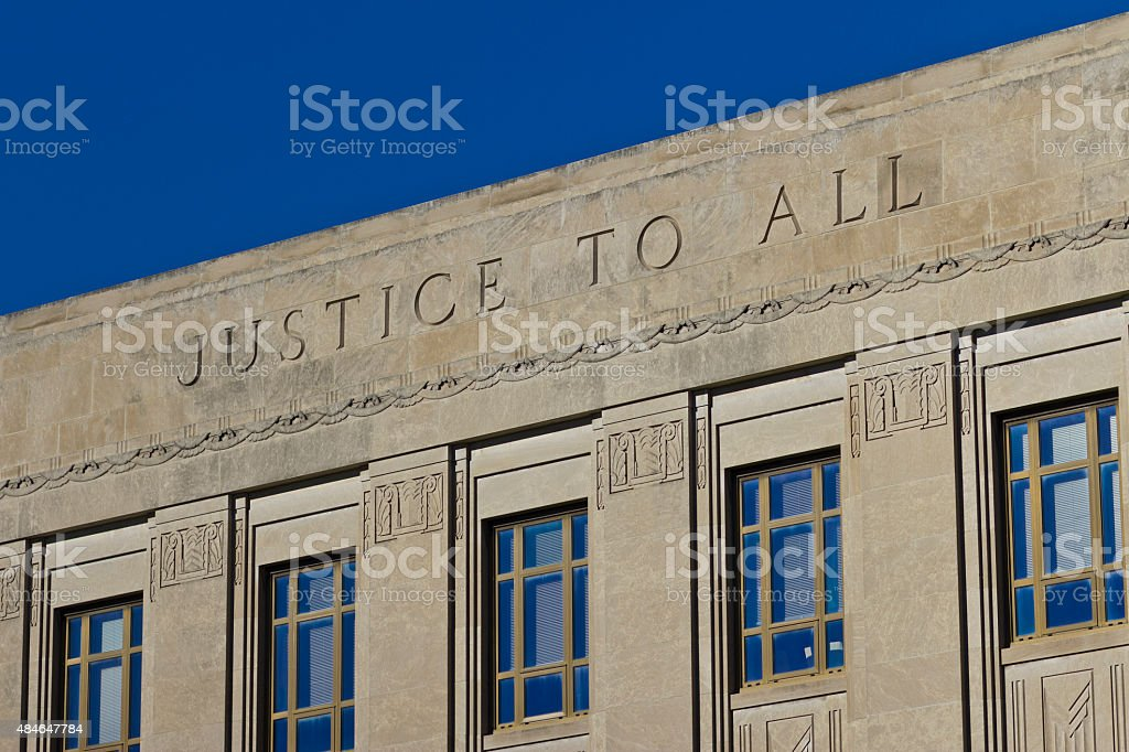 Justice To All stock photo