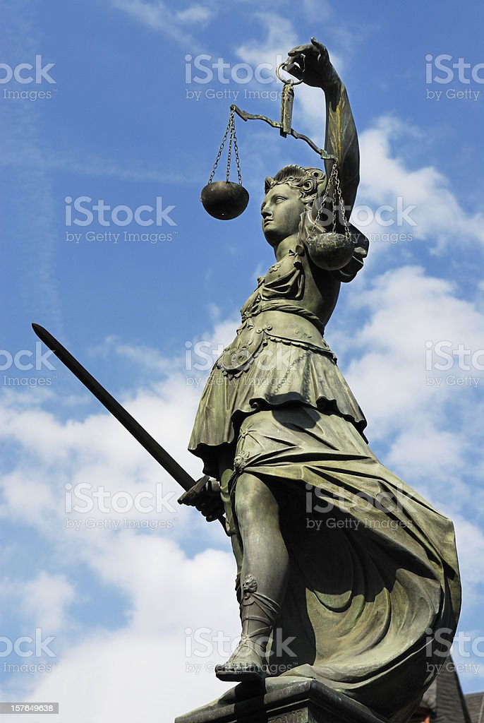 Justitia stock photo