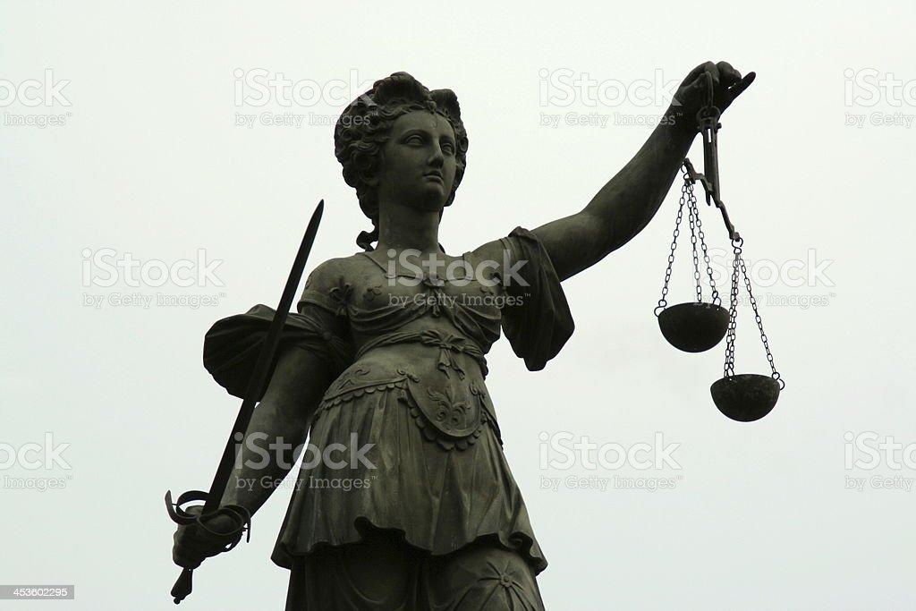 Justitia stock photo