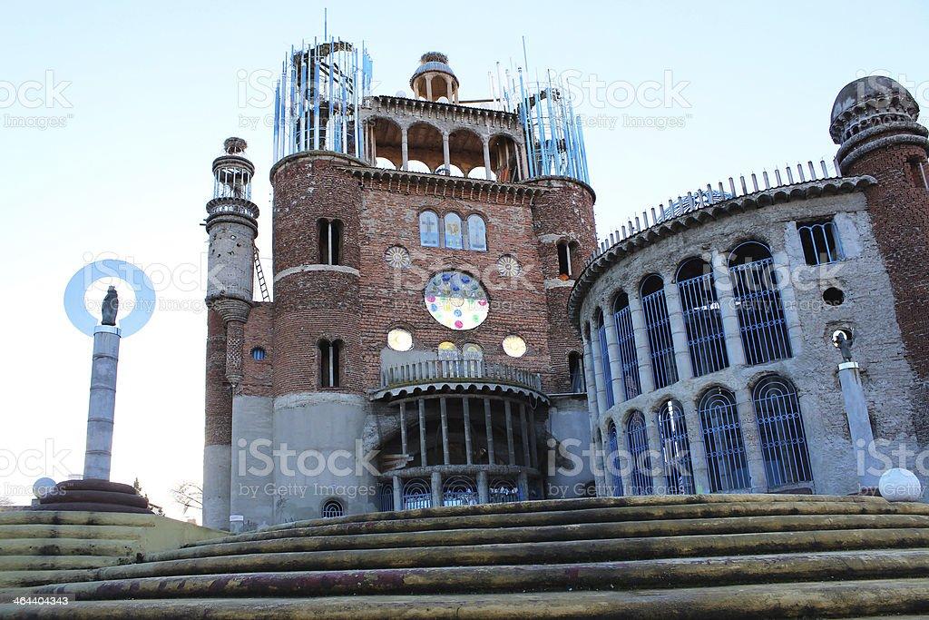 Justo's Cathedral. Mejorada del Campo stock photo