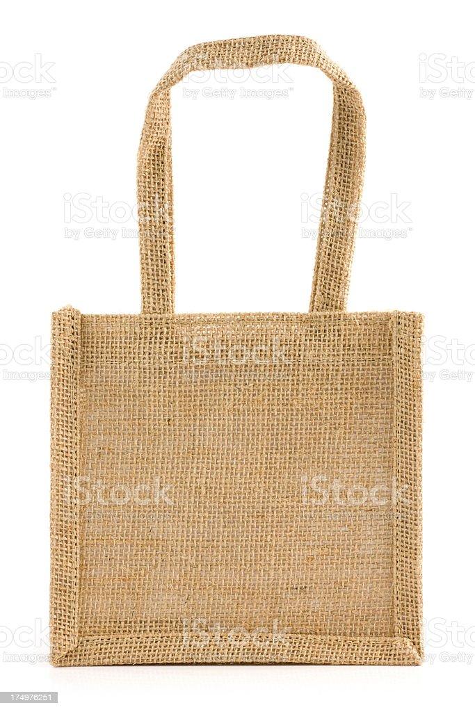 Jute bag royalty-free stock photo
