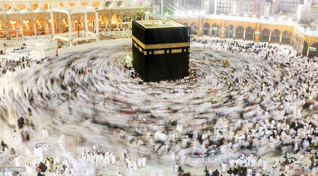 Kaaba Mecca stock photo