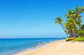 Kaanapali Beach and resort Hotels on Maui Hawaii
