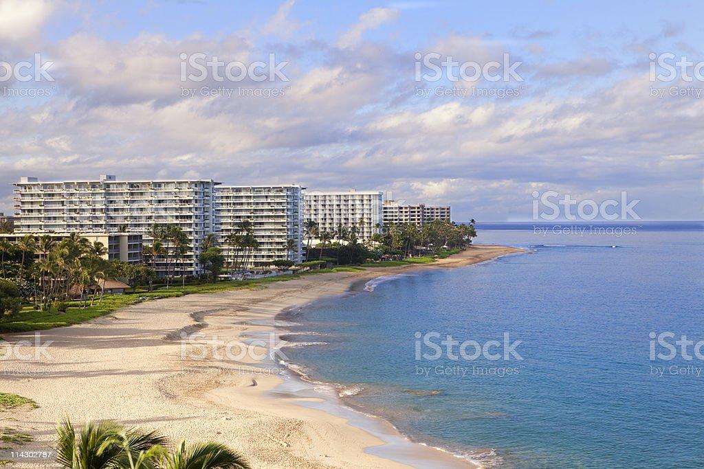 Kaanapali Beach, Maui royalty-free stock photo