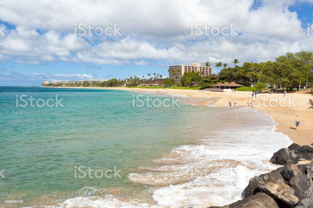 Ka'anapali Beach, Maui stock photo
