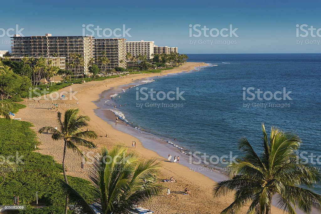 Kaanapali Beach stock photo