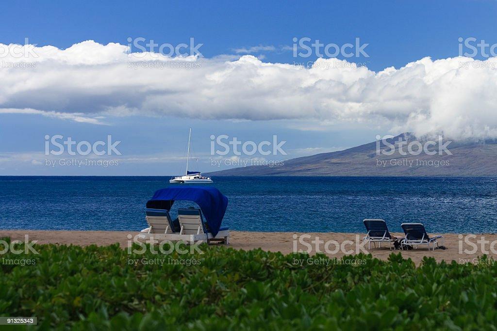 Ka'anapali Beach stock photo
