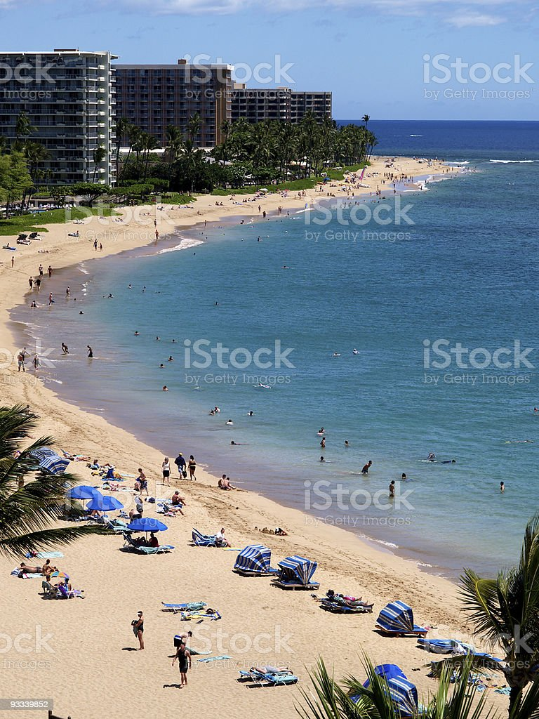 Kaanapali, Maui 2 stock photo