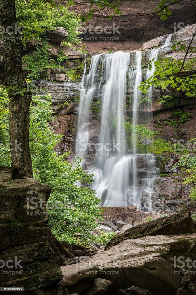 Kaaterksill Falls stock photo