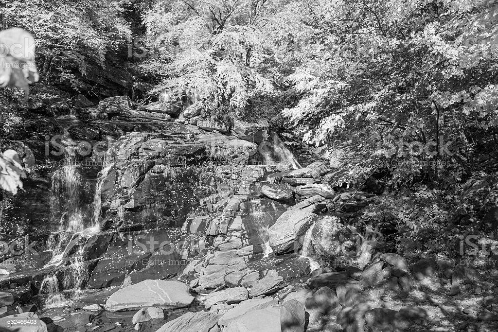 Kaaterskill Falls - Hudson Valley, NY stock photo