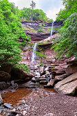 Kaaterskill Falls in Catskills Mountains