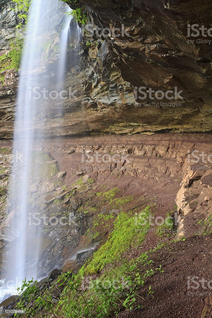 Kaaterskill Falls Overhang stock photo