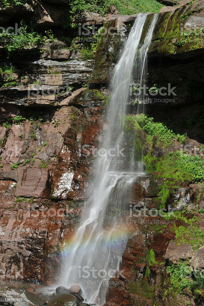 Kaaterskill Falls stock photo